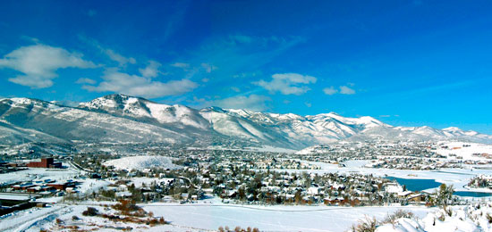 Park City Winter Panorama